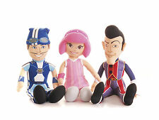 "NEW OFFICIAL GIANT 17"" LAZY TOWN STEPHANIE ROBBIE ROTTEN SPORTACUS"