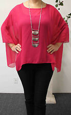 Dare 2 B Stylish Casual Wear Poncho Type Sling Tunic in Exotic Print
