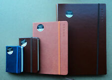 CHOICE A5 / POCKET & SLIM SIZES OF QUALITY NOTEBOOKS Hard Backed Rustic Colours