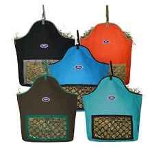 Fiesta Slow Feed Nylon Hay Bag for Horses by Derby Originals Select Any Color