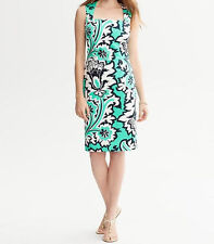 Banana Republic Milly Collection Eden Rock Printed Dress Various Sz NWT Green