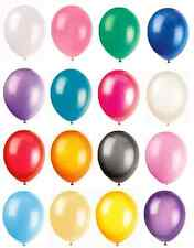 """12"""" LATEX HELIUM OR AIR QUALITY BALLOONS-WEDDING-BIRTHDAY-NEW YEARS PARTY-XMAS"""