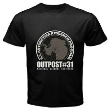 New The Thing Outpost #31 John Carpenter Movie Men's Black T-Shirt Size S to 3XL