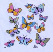SOLAR BUTTERFLIES-Sun Powered Color Changing Butterfly 2 sided Kids T shirt XS-L