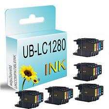20 Compatible ink cartridges for Brother LC1240 LC1280 DCP & MFC Printers