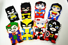 New Cute 3D Super Heroes Silicone Rubber Back Cover Case For iPhone 4 4s 5 5s