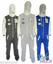 Mens R Orlando Onesie Womens College Hoody Jogger All In One Unisex Onezee New