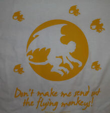 Flying Monkeys - Oz - Wicked - Adult T-Shirt (Wht, Blk, Gray, or Pnk Sm to 3XL)