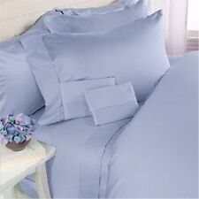 [ BLUE SOLID ] COM.BEDDING COLLECTION 600TC 100% EGYPTIAN COTTON @ ALL SIZES