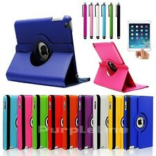 360 Rotating Smart Magnetic Leather Case Cover For iPad Mini 1 1st Generation