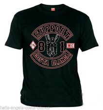 01 Biker Black Support81 Big Red Machine 1% Hells Angels 666 Costa Blanca Spain