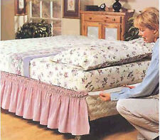 NEW King or Queen Wrap Around Bed Dust Ruffle - 14in Drop