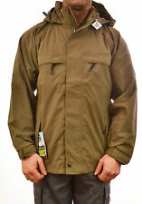 REGATTA MENS LANDMARK JACKET COAT WATERPROOF ISOTEX 5000 GREEN BREATHABLE MW261