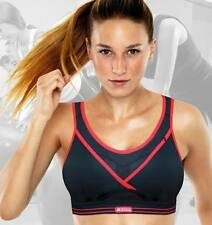 SHOCK ABSORBER ULTIMATE GYM BRA S002Z BLACK with RED TRIM NWT NEW FOR 2013