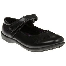 New Infants SOLESISTER Black Daisy Synthetic Shoes Slip On