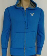 American Eagle Outfitters Mens Bright Blue Hoodie Sweatshirt Jacket New NWT