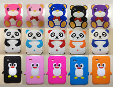 "Cute Cartoon Rubber Case Cover For Samsung Galaxy Tab 2 7.0"" Tablet P3100 P3110"