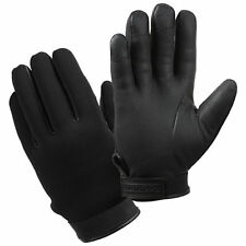 Black Neoprene Cold Weather Insulated Waterproof Duty Gloves