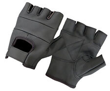 FULL LEATHER WEIGHT LIFTING PADDED GLOVES EXERCISE TRAINING CYCLING WHEELCHAIR