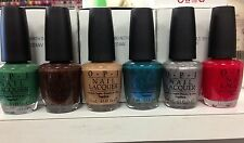 OPI Discontinued Nail Polish 2011 Texas Collection - Jellies and Cremes