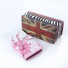 Retro Style PU Leather Flip Wallet Case Cover +Stand For LG Google Nexus 5