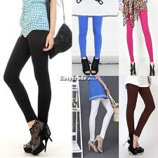 New Ankle Length Cotton Pants Tight Women Good Quality Hot Stretchy Leggings ESY