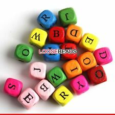 Bulk Mix Colors Cartoon Flat Back Wooden Loose Spacer Jewelry DIY Craft Beads