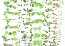 """New Artificial Ivy Garland Silk Leaves Vine Wedding Party Wall Fence Art 86-102"""""""