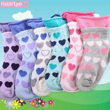 Naartjie Girls Hearts Roll Top Fashion Cotton Short Crew Socks 6 Pairs Pack NWT