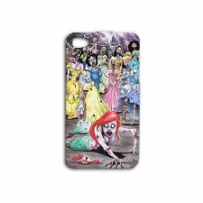 Disney Princess Zombies Cute Funny Case iPhone 4 4s iPhone 5 5c 5s iPhone 6 Case