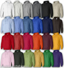 Hooded Sweatshirt Gilden Heavy Blend Hoodie 32 Colors Small-XL NEW 18500