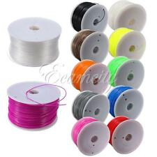 NEW 1.75mm 3mm 1KG PLA ABS Filament For 3D Printer Makerbot Prusa Mendel Reprap