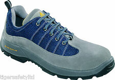 Delta Plus Panoply Rimini 2 S1P Grey Navy Blue Mens Safety Toe Cap Work Trainers