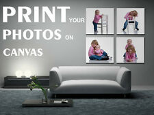 PERSONALISED BOX CANVAS PRINT - YOUR PHOTO - ANY CHOICE OF IMAGE - MANY SIZES