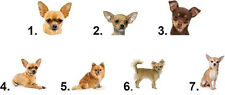 Waterslide Dog Nail Decals Art Set of 20 - Chihuahua - you choose