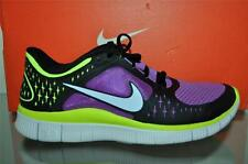 Nike Free Run+ 3 Womens Running Shoes 510643 553 Laser Purple/PR Volt-Black-VLT