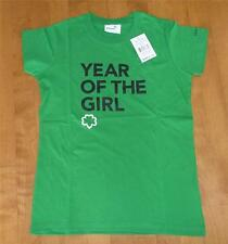 NWT Girls green GIRL SCOUTS YEAR of the GIRL T-Shirt Plus Size 14 1/2 14.5 18.5