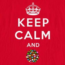"""Keep Calm and Candy Crush"" - Funny Candy Crush Shirt (MENS/UNISEX)"