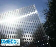 10mm Clear Polycarbonate Roofing Sheets - Various Sizes