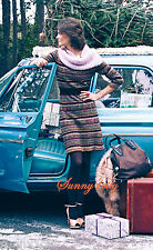 NWT L Anthropologie Clara Sweater Dress By Sparrow, Gorgeous Colorful patterns