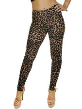 Ladies Sexy Animal Leopard Print Good Quality Party Casual Leggings in 2 Sizes.