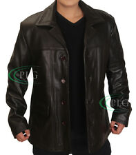 Jack Bauer 24 Season 8 Brown Leather Coat / Jacket - BNWT ALL SIZES