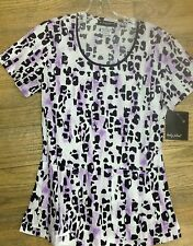 Sale Brand New Print Top Baby Phat Medical Uniforms Scrubs NWT 26728c GOCT GIFT