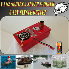 Super Smoker  RC  Model Boat Tank Train Truck Drift Car Construction 6-12 Volt