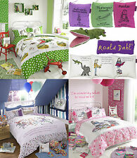 Roald Dahl Children Kids Boys Girls Books Collection Bedding Quilt Duvet Set
