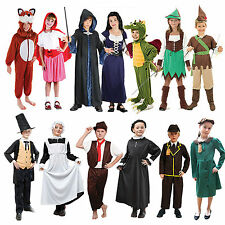 School Book Week Childrens Fancy Dress Costumes Boys Girls Kids Dressing Up