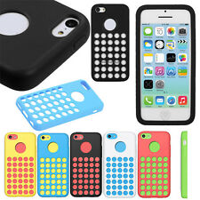 Slim Silicone Rubber Soft Case Cover Gel Skin Cool Protector For Apple iphone 5C
