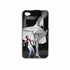 Hollywood Cute Justin Bieber Marilyn Monroe Funny Phone Case iPhone 4 4s 5s 5c 6