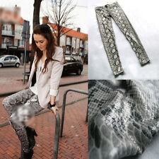 New HOt Fashion 2014 show thin python print leggings - snakeskin pants leggings