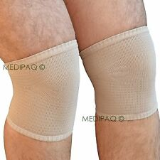 MEDIPAQ™ Gel Lined Knee Protection Sleeve Support - Sore Ulcers Leg Pain Cap Aid